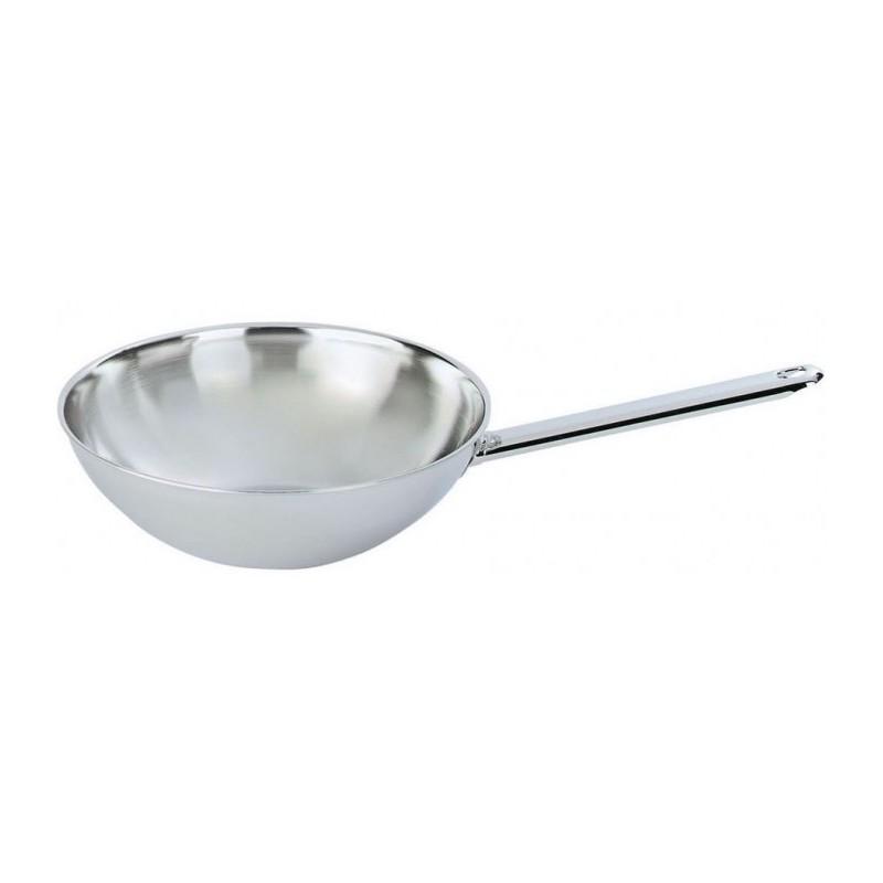 Demeyere wok vlakke bodem 30cm