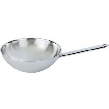 Demeyere wok 26cm vlakke bodem