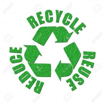 100% gerecyclede materialen
