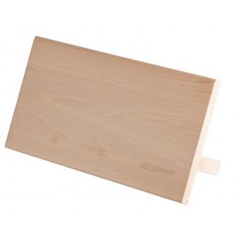 Solinger magnetisch messenblok van beukenhout