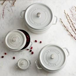 Staub Truffle White braadpannen serie