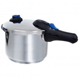 BK Snelkookpan 6 liter mat RVS