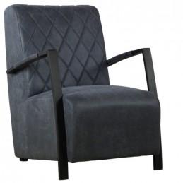 Industriële fauteuil Wega -Jeep antraciet