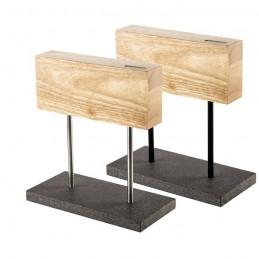 Style de Vie magnetisch messenblok -eikenhout