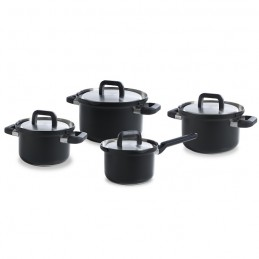 BK Flow Cool Black pannenset 4-delig