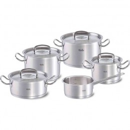 Fissler Original Profi Collection RVS deksels 5-delige pannenset