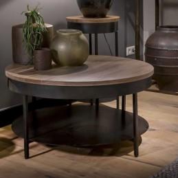 UrbanSofa Owen salontafel met onderblad 90cm