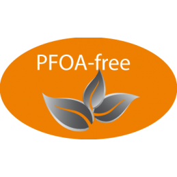 Anti aanbaklaag zonder PFOA's