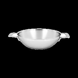 Demeyere Industry 5 wdjan - wok met 2 grepen 30cm