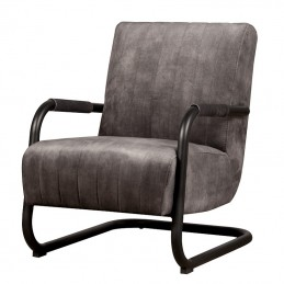Fauteuil Riva -antraciet