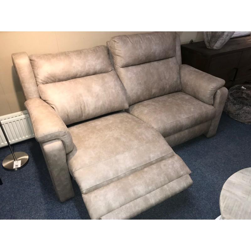 Sofa Denmark 2,5 zits met 1 relax gedeelte -showmodel