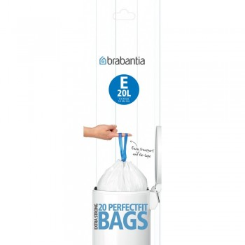 Afvalzak Brabantia B 5 liter 20 stuks