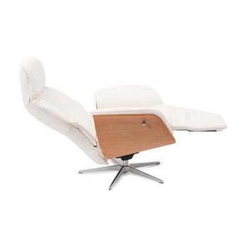 Luxe Hjort Knudsen relaxfauteuil met hout