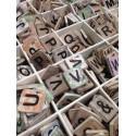 Scrabble letters en tekens