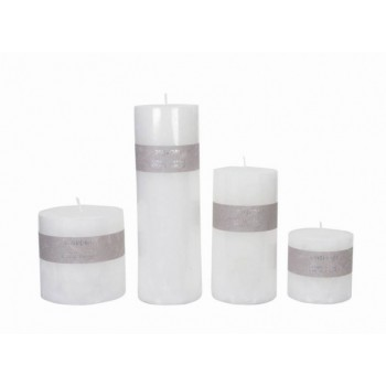 Kaars wit Riverdale candle pillar white