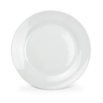 Bord diner plat Basis Wit 27 cm