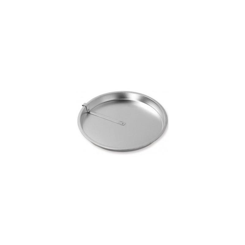 Boterkoekvorm met mes Patisse Silver Top 23 cm