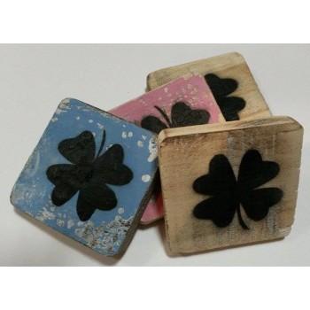 Scrabble teken 'POWER' hout
