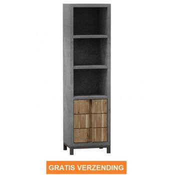Industri le boekenkast 200 voordeel gratis verzending koken wonen - Eigentijdse boekenkast ...