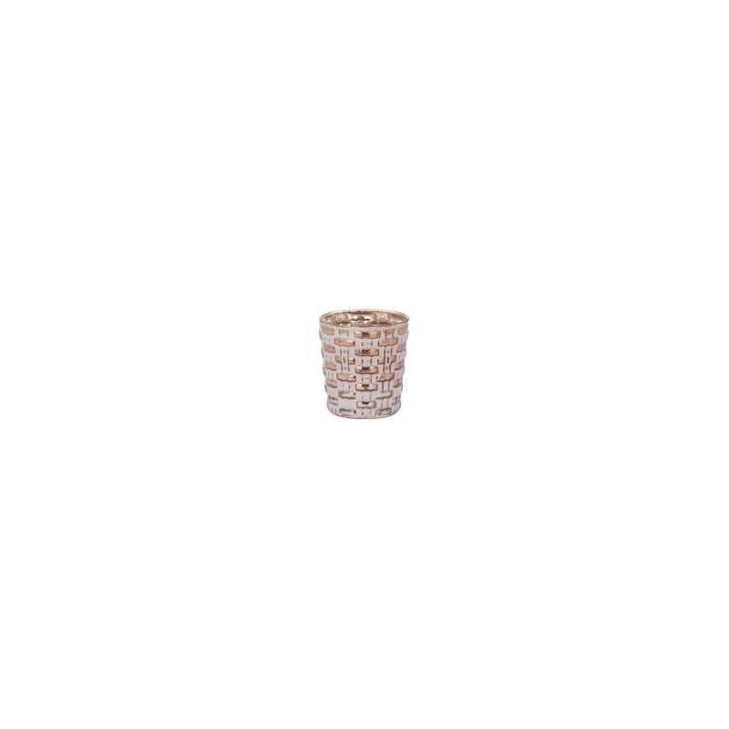 Riverdale sfeerlicht Votive blocks copper 9cm