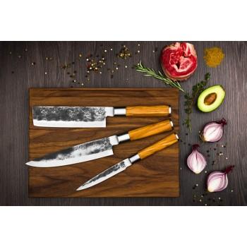 Forged Olive messenset 3-delig