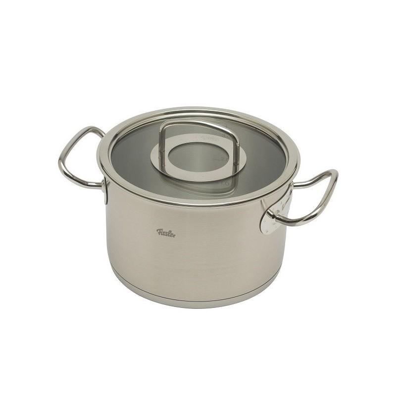 Soeppan 5,5 liter Fissler Profi Original met glasdeksel