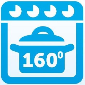Kan in de oven tot 160 graden