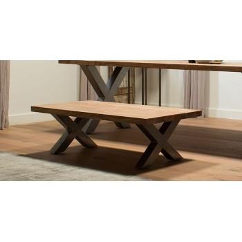 Rocco acaciahout salontafel 130 cm