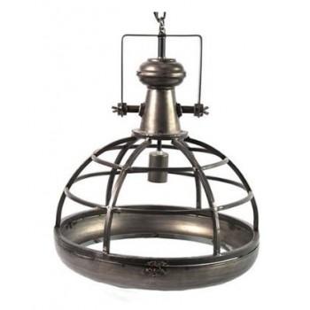 Industriële hanglamp Neelie zwart large
