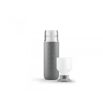 Dopper Insulated Glacier Grey isoleerfles 350ml