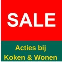 Acties bij Koken & Wonen